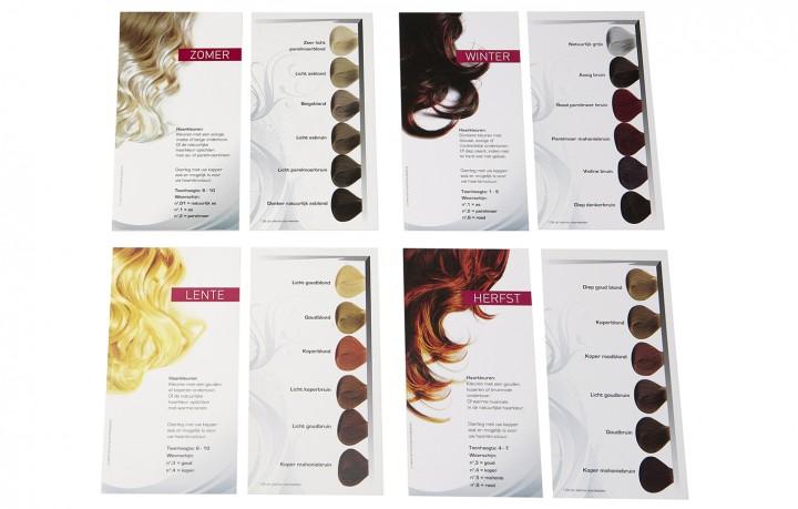 Haarkleurkaarten