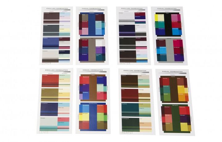 Kleurencombinatie-kaarten