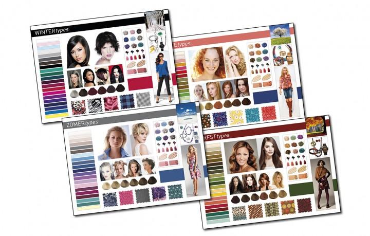 presentatiepanelen kleurtypes M/V